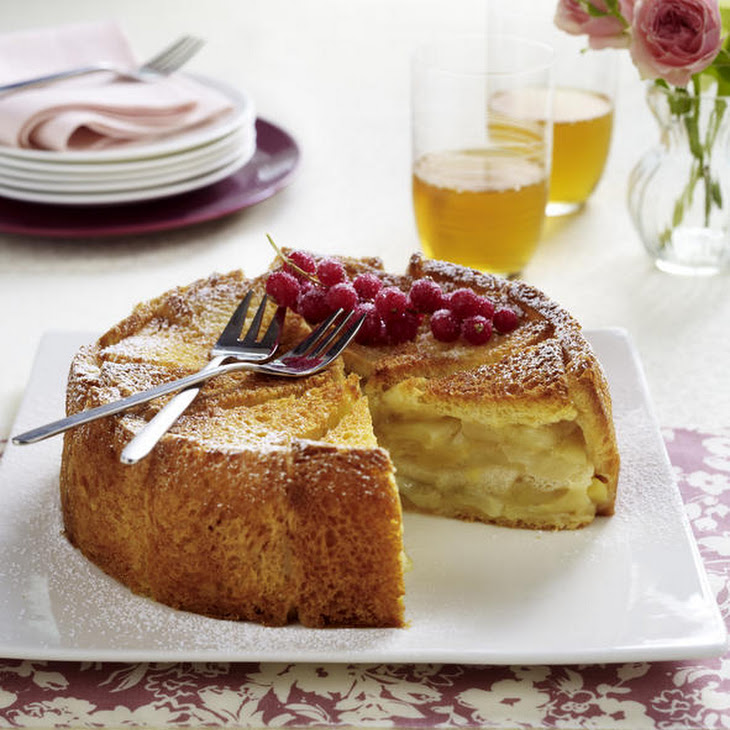 Apple Charlotte with Salted Butter