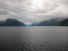 Photo: Morning in Geirangerfjord