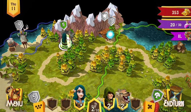 Heroes of Flatlandia Screenshot 7
