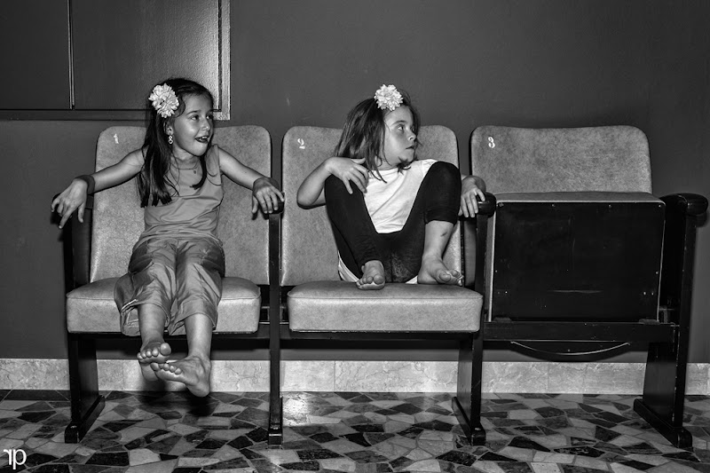 Photo: after the dance show .... waiting for mom  #project365 +G+ 365 Project Day187/366