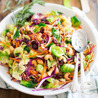 Colorful Brussels Sprouts Salad Recipe