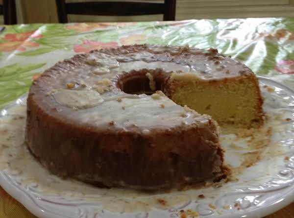 Coconut Lime Pound Cake Recipe