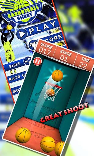 バスケットボールのシュート トス: Basketball