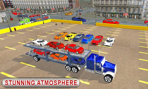 Truck Car Transport Trailer Games 1.5 screenshots 2