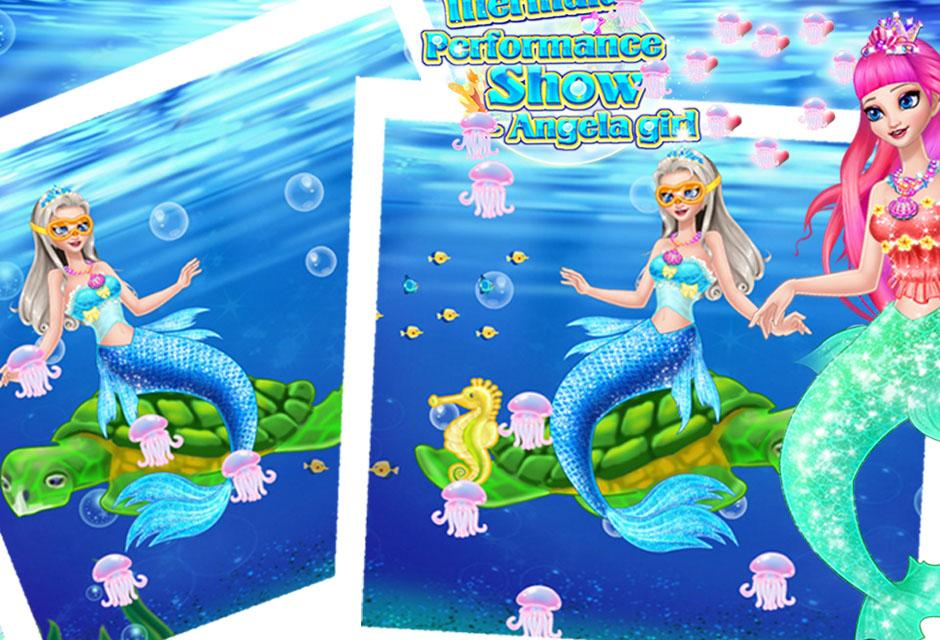 Mermaid Show Angela Girl- screenshot
