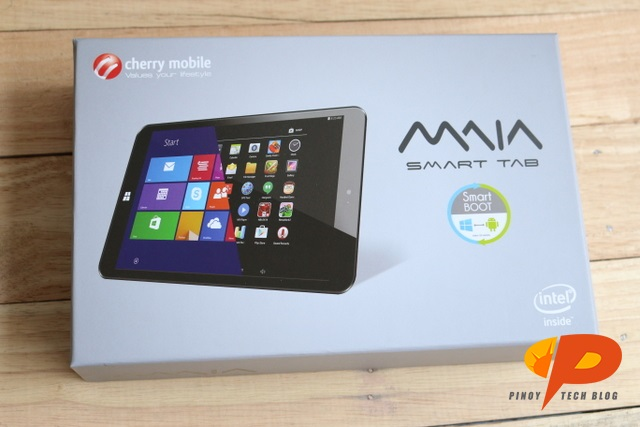Cherry Mobile MAIA Smart Tab Review box