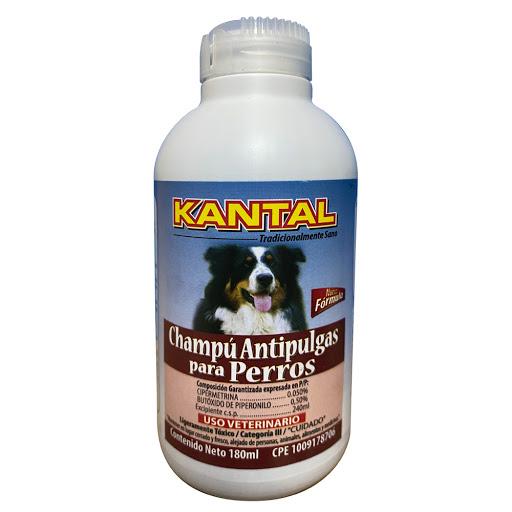 champu para perros kantal antipulgas 180ml