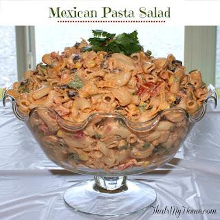 Mexican Taco Pasta Salad