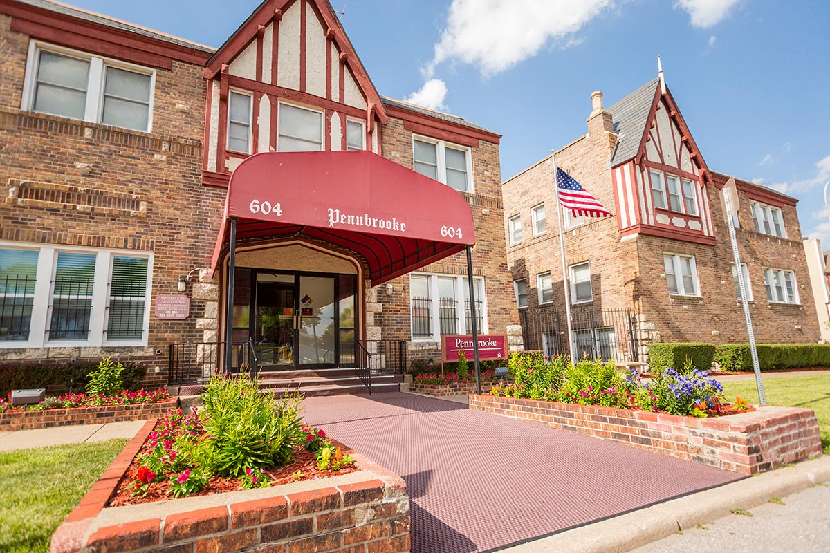 one bedroom pennbrooke apartments in kansas city mo