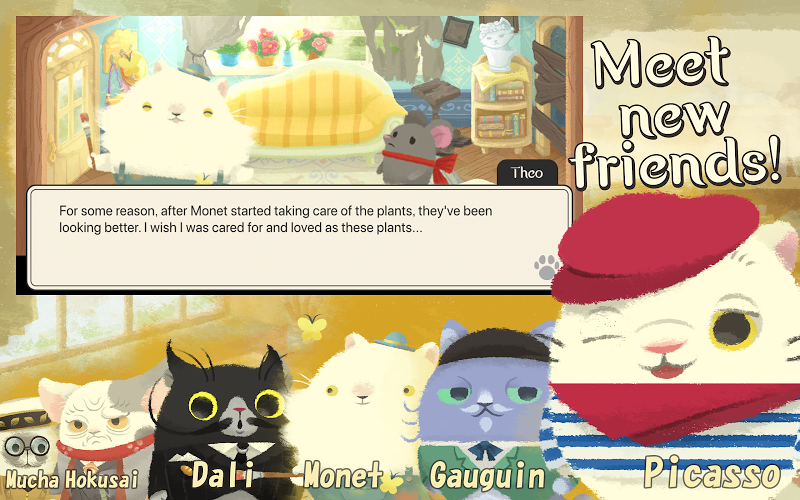 Cats Atelier - Days of van Meowogh: A Meow Match 3 Screenshot 3