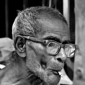 Old and Wise by Amit Naskar - People Portraits of Men