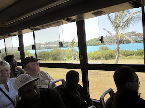 Photo: Bus back to St George's