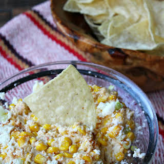 Slow Cooker Mexican Street Corn Dip.