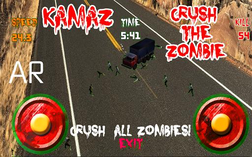 Kamaz Crush the Zombie