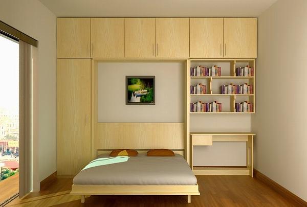 Giường đa nắng giúp không gian tiện lợi hơn