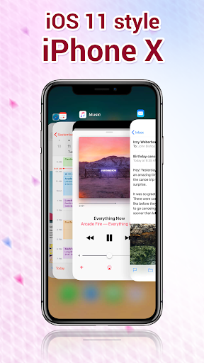 Phone X Launcher, OS 12 iLauncher & Control Center  screenshots 4