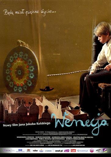 Przód ulotki filmu 'Wenecja'