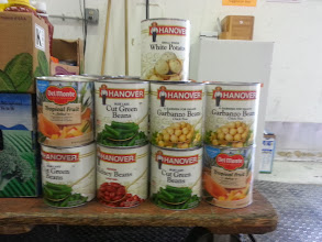 Photo: Donated Food Drive items