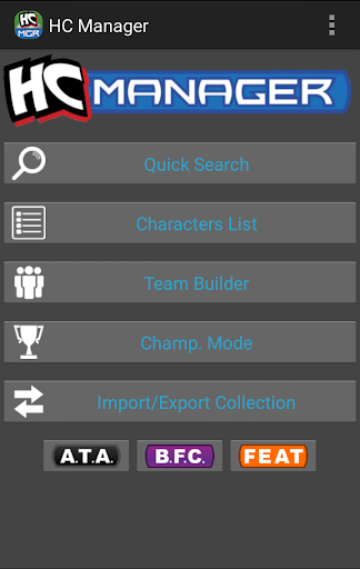 Screenshot for HeroClix Manager in Hong Kong Play Store