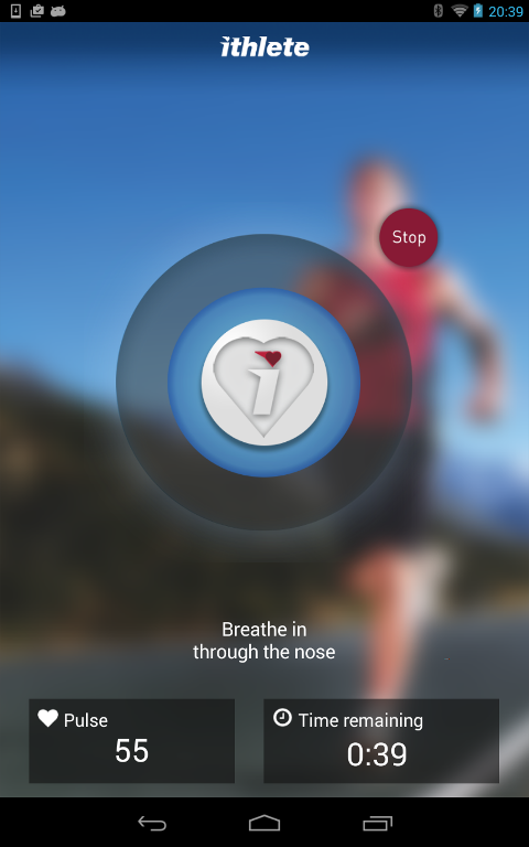 ithlete -Train.Recover.Perform- screenshot