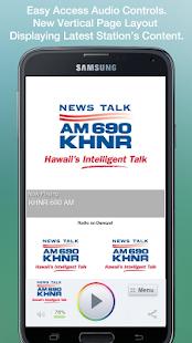 KHNR 690 AM - screenshot thumbnail
