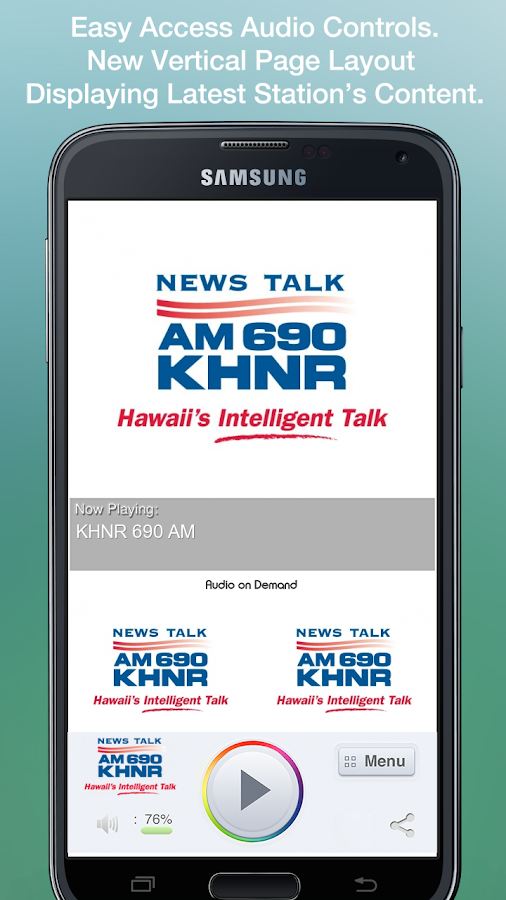 KHNR 690 AM - screenshot