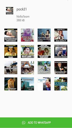 Meme Perang Gambar Stiker WA ss1