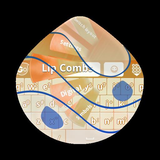 个人化のリップコームズ GO Keyboard LOGO-記事Game
