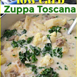 Low Carb Olive Garden Zuppa Toscana Soup Recipe