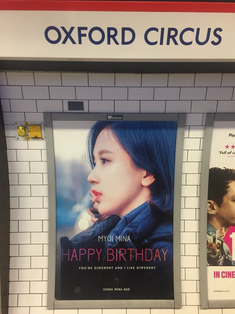 Gifts For Kpop Fans Colorfulbirthdaycakestk The Fan Club China Mina Bar Did Everything In Their Power To Give A Special Birthday