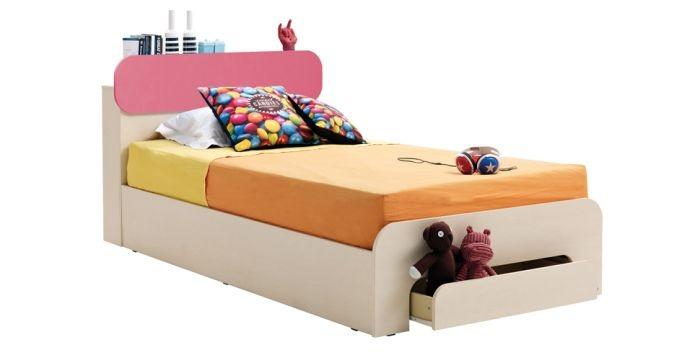 Giường ngủ đơn khó phối đồ với các nội thất khác