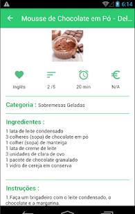 Sobremesas Geladas - náhled