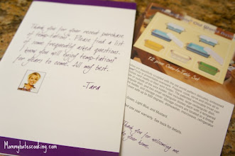 Photo: Received my set in the mail!  I like this personal note plus the how to's on using them!
