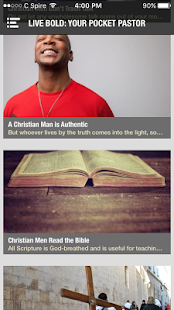 Live Bold for Christian Men- screenshot thumbnail