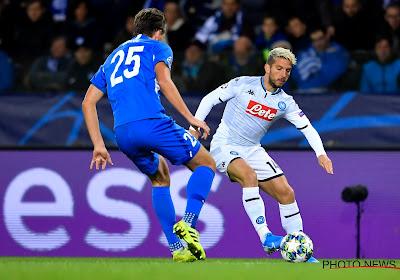 'Napoli speelt hoog spel met Mertens, terwijl Inter een miljoenencontract heeft klaarliggen voor de Rode Duivel'