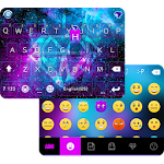 Galaxy Sparkle Emoji Keyboard Icon