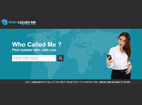 WHO CALLED ME ?