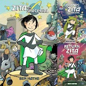 Zita the Spacegirl Series