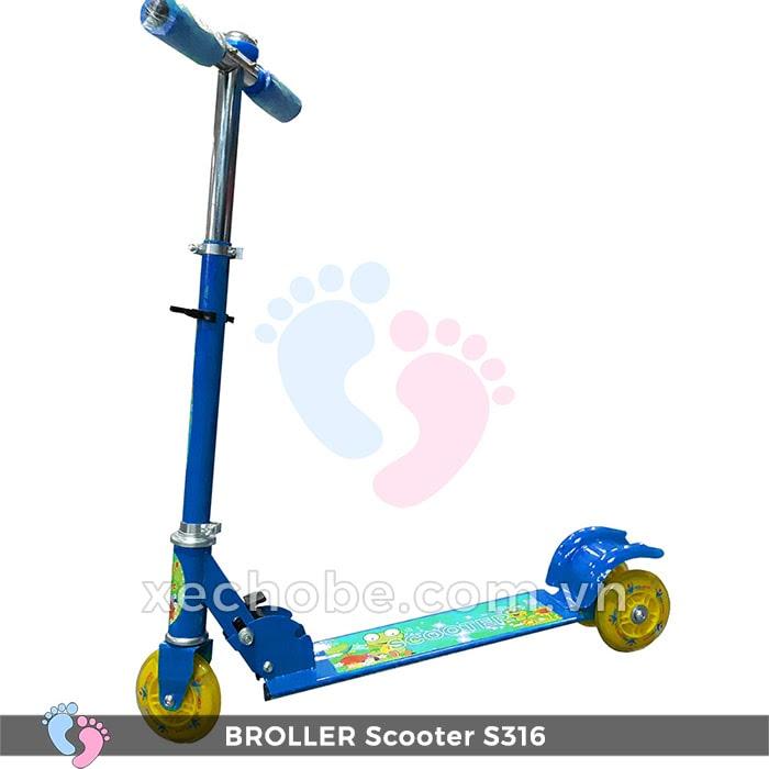 Xe trượt Scooter trẻ em Broller S316 2