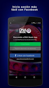 DNA Music: miniatura de captura de pantalla