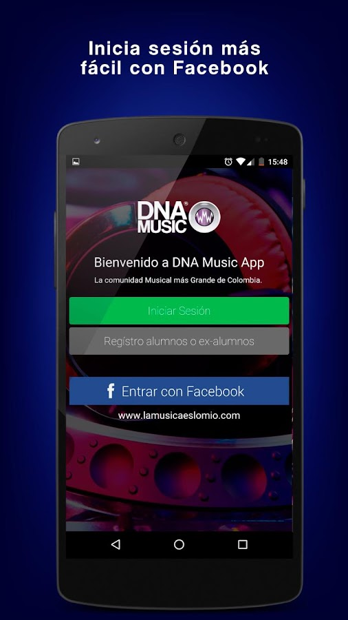 DNA Music: captura de pantalla
