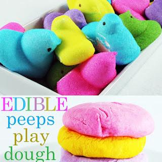 Edible Playdough Recipe With Peeps