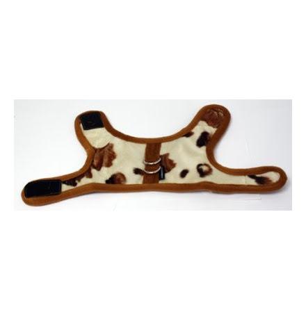 Hundtäcke Komönster Brun/Vit 22-26cm Ø35-39cm Small