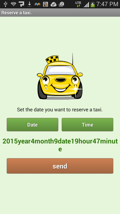 Japanese Taxi search Takuru- screenshot