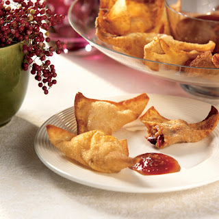 Butternut Squash, Cranberry and Cabot Habanero Cheddar Wontons