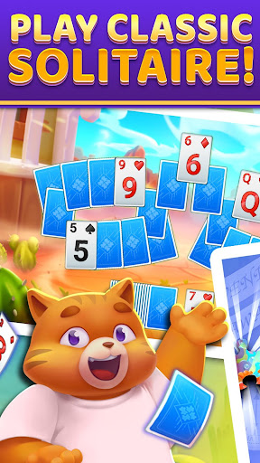 Puzzle Solitaire - Tripeaks Escape with Friends android2mod screenshots 1