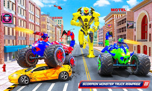 Scorpion Robot Monster Truck Transform Robot Games 9 screenshots 3