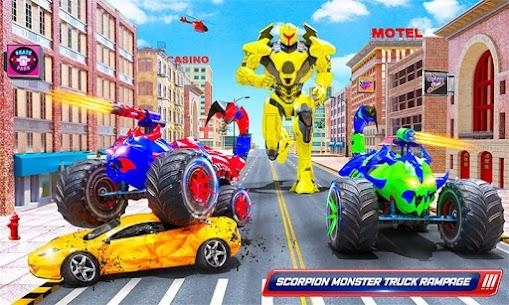 Scorpion Robot Monster Truck Transform Robot Games 3