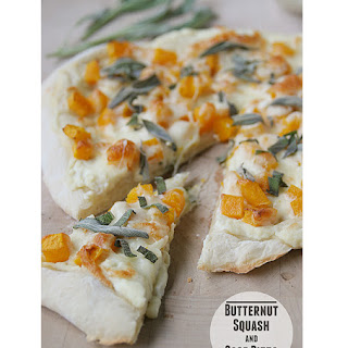 Butternut Squash and Sage Pizza.
