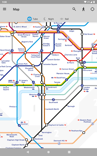 Tube Map - TfL London Underground route planner 5.9.5 Screenshots 18